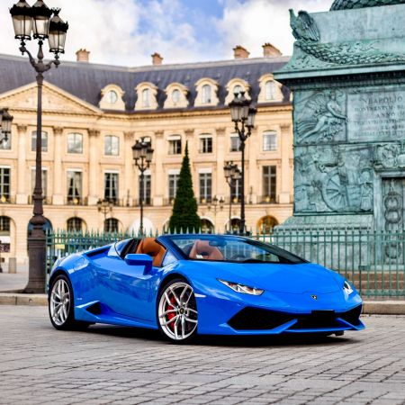 Rent a supercar or a sportscar ParisLuxuryCar