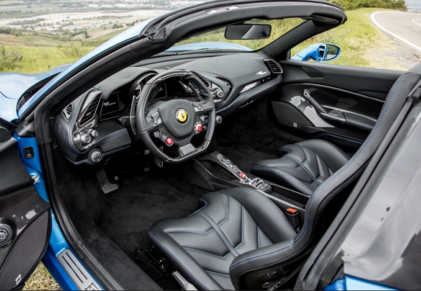 Ferrari 488 spider, hire , rent , location , alquiler , aluguel, Paris Luxury Car, parisluxurycar 3