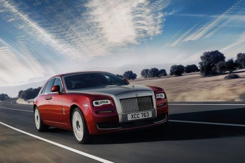 HIRE ROLLS ROYCE GHOST - RENT WITH CHAUFFEUR