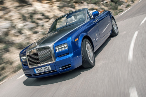 HIRE ROLLS ROYCE DROPHEAD - RENT WITH CHAUFFEUR
