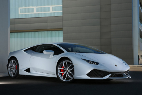 HIRE LAMBORGHINI HURACAN COUPE LP 610-4