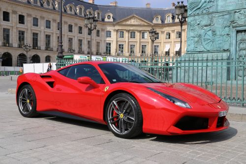 RENT FERRARI 488 GTB COUPE