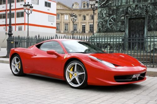 RENT FERRARI 458 ITALIA COUPE