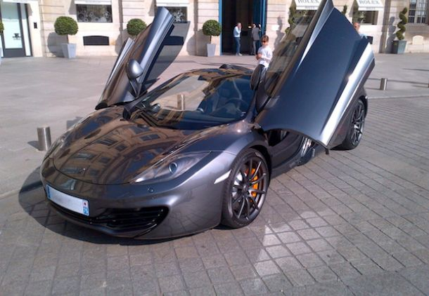 McLaren MP4 12C spider, hire , rent , location , alquiler , aluguel, Paris Luxury Car