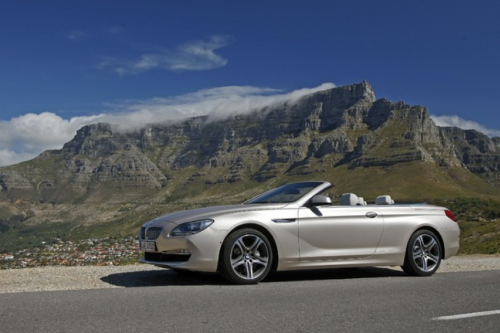 HIRE BMW 6 SERIES CONVERTIBLE