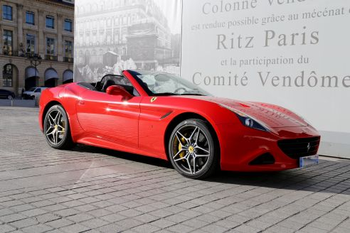 RENT FERRARI CALIFORNIA T