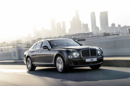 HIRE BENTLEY MULSANNE - RENT WITH CHAUFFEUR