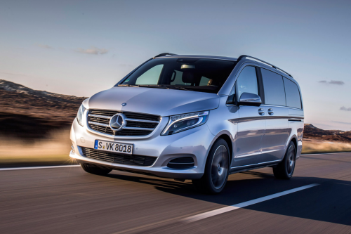 HIRE MERCEDES V CLASS -  RENT WITH CHAUFFEUR