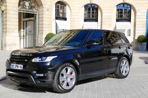 HIRE RANGE ROVER SPORT -  RENT WITH CHAUFFEUR