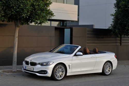 HIRE BMW SERIE 4 CONVERTIBLE